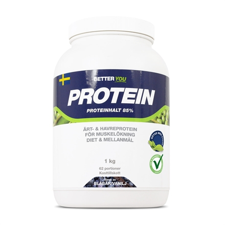 - Proteinpulver.